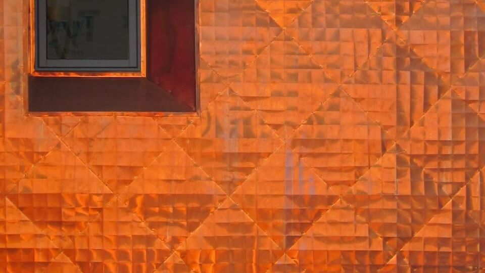 Copper Siding And Window