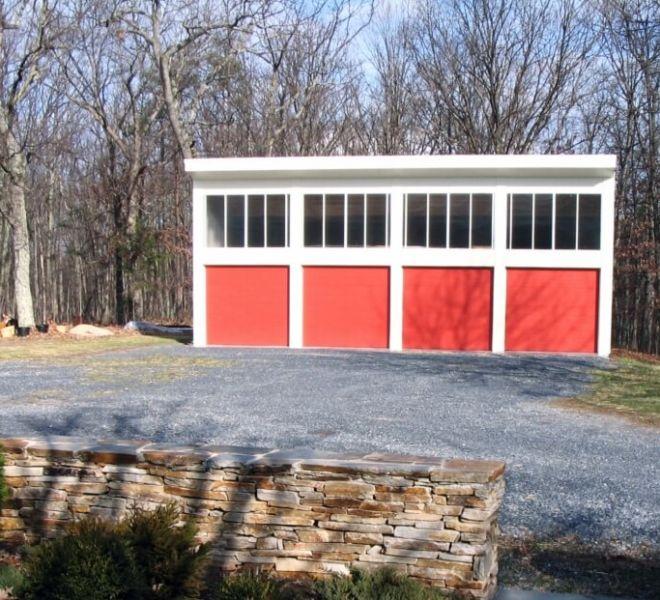 Four Bay Garage