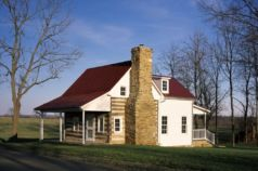 Wheatland Farms Log Cabin