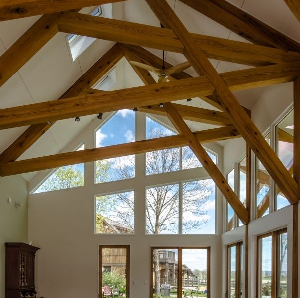 Farm House Timber Frame