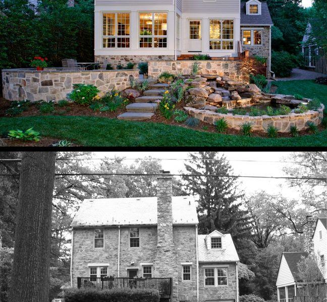 Linden Lane House Renovation Before After