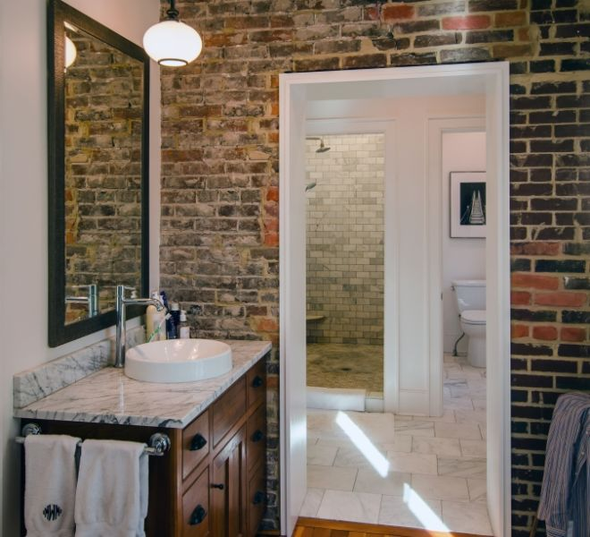 Wise House Master Bath