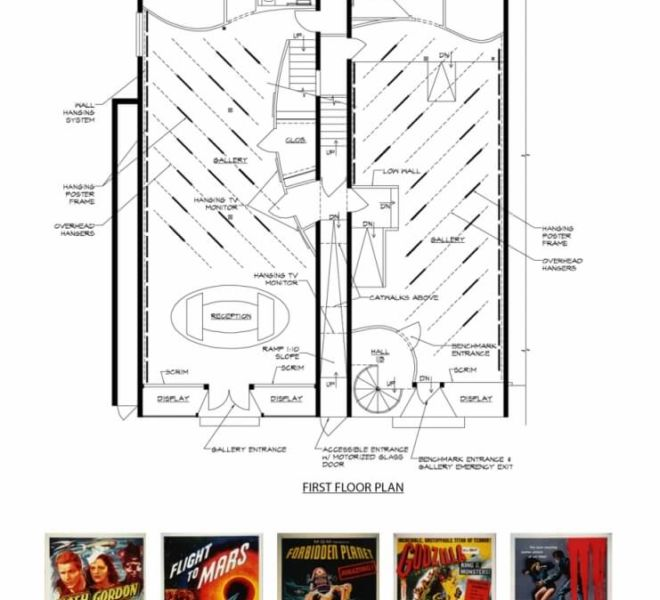 Alien Invasion First Floor Diagram