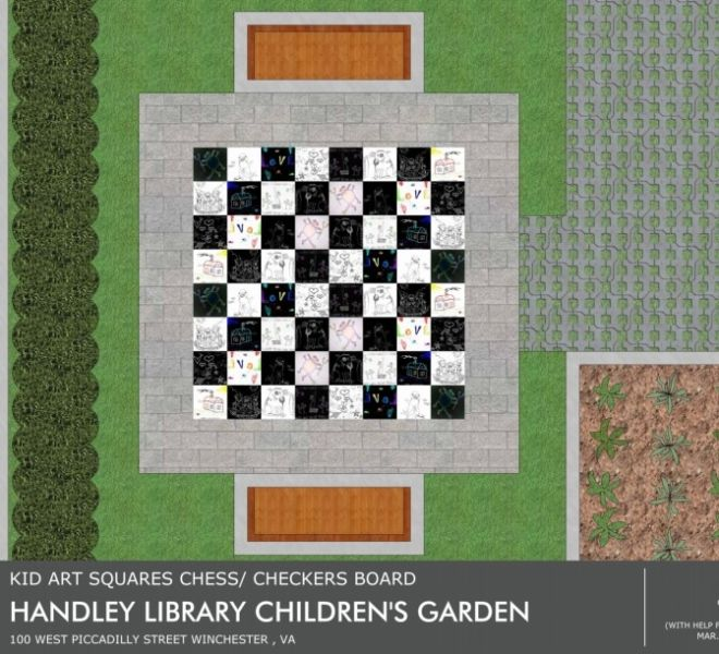 Handley Library Children Garden Design 3