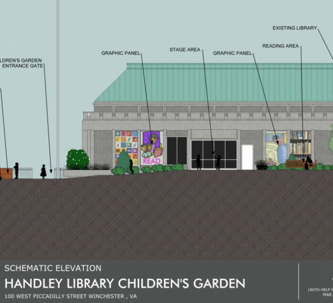 Handley Library Children Garden Design 4